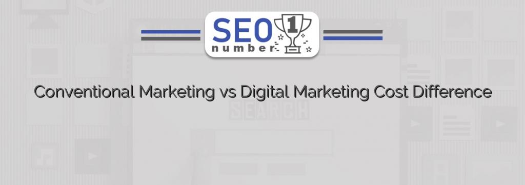 Conventional Marketing vs Digital Marketing Channels